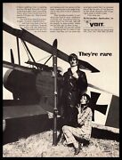 1969 Voit Spectra Ct6 Glass Snow Skis Red Baron German Fokker Airplane Print Ad