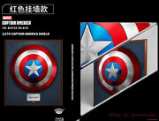 In Stock Avengers King Arts 1:1 Captain America Shield Full Metal Collection New