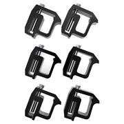 6pcs Truck Cap Topper Shell Mounting Clamps Heavy Duty Camper Tl2002 For Dodge