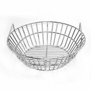Stainless Steel Charcoal Ash Basket Fits For Large Big Green Egg Grill...