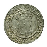 Henry Viii Hammered Silver Groat Mm Pheon S2337e