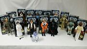 Vintage Star Wars 1996 12 Inch Action Figures 15 In Lot Various Characters