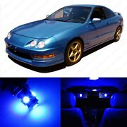 9 X Blue Led Interior Lights Package For 1994 - 2001 Acura Integra + Pry Tool