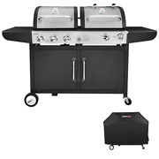 Fathers Day Gift Ideas Royal Gourmet Corp 3-burner Liquid Propane Gas And Charco