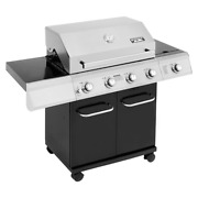 Monument Grills 4-burner Propane Gas Grill With Cabinet Outdoor Cooking System