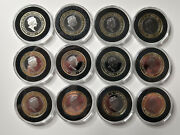 2020 Two Pound Andpound2 Coin Labours Of Hercules Full Set Gibraltar 2750 Sets