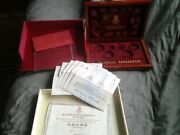 2008 China Beijing Olympic Coin Set Box And Certs-no Coins No Coins No Coins