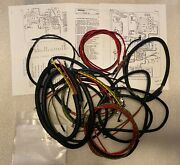 Harley 70321-58 Complete Panhead Duo-glide 1958 Wiring Harness Usa