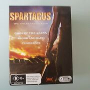 Spartacus Uncut Collection Gods Of The Arena/ Blood And Sand/ Vengeance Blu-ray