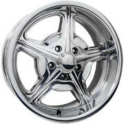 4-22x10 Polished Wheel Billet Specialties Speedway 5x4.75 0