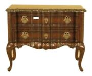 L28938ec Lillian August Marble Top Continental Style Commode Chest