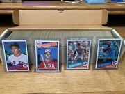 1985 Topps Baseball Complete Set 792 Cards Clemens Puckett Mcgwire Rcand039s Nm-mt