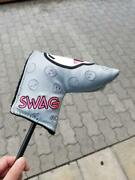Swag 34 Inches Golf Putter Collectorand039s Item Rare With Cover Free Shipping