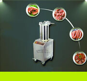 Hydraulic Sausage Stuffers Automatic Vertical Sausage Maker With 3 Stuffing Tube