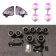 For W213 Turbine Air Vent Ambient Light Kit Rotating Tweeter Mid Range Cover