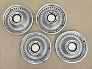 1971 1972 Chevrolet Impala Full Size Wheel Cover Hubcap Set Of 4 Free Shipping