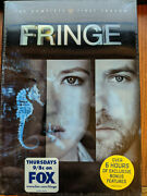 Fringe The Complete First Season Dvd 2009, Season 1 Sci-fi New Factory Sealed