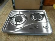 Capital 1204ss 2 Burner Drop-in Cooktop Stainless Steel Rv Free Ship 16