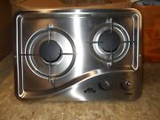Capital 1204ss 2 Burner Drop-in Cooktop Stainless Steel Rv Free Ship 24