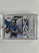 2009 National Treasures Matthew Stafford Colossal Logo Patch /15 Rookie Rc 2 🔥