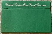 1994 United States Mint Proof Set With Certificate Of Authenticity Pre-owned