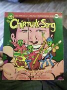 The Chipmunks The Chipmunk Song Christmas Songs Vintage Record