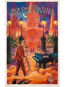2020 Jazz Festival Poster - Hoodoo Heaven By Scott Guion - C-marque Edition