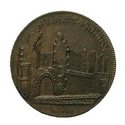 Worcestershire Dudley Penny Token Priory Ruin Dandh 3