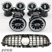 W213 Grill And Interior Air Vents Ambient Lighting Kit For Benz E-class 2015-2021
