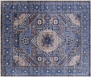 8and039 2 X 9and039 8 Mamluk Hand Knotted Wool Rug - Q8574