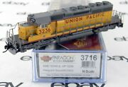 N Scale Emd Sd40-2 Locomotive W/dcc And Sound - Union Pacific 3236 - Bli 3716