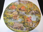 Springbok Circular Jigsaw Puzzle Grist Mills Pzl 6043 Over 500 Pieces Complete