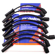8pcs Oem Acdelco 9748hh Spark Plugs Wires For Cadillac Gmc Chevy Hummer H2