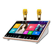 Inandon19.5'' Echotouch Screen Karaoke Player,2tb Hdd,chinese,english Songs.
