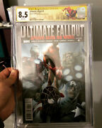 Ultimate Fallout 4 Cgc 8.5 Signed And Sketch