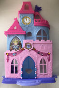 Fisher Price Little People Disney Princess Castle- Magical Wand Palace- Figures