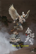 Yege Journey To The West-golden Winged Roc Bird Statue Collectible Gk Model