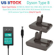 4ah 22.2v Li-ion Battery For Dyson Typeb Dc31 Dc34 Dc35 Animal 917083-01andcharger