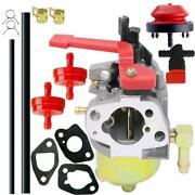 Carburetor Carb For Troy-bilt Squall 2100 208cc 21and039and039single-stage Gas Snow Blower