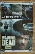 The Walking Dead Autograph Signed Movie Poster Norman Reedus