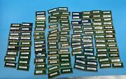 Lot Of 118 1gb 2gb Ddr2 Ddr3 Pc3-8500s Pc3-10600s Mix Brands Laptop Memory Ram