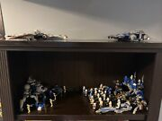Star Wars Lego Figure And Set Lot