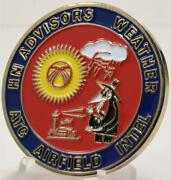 376th Expeditionary Weather Squadron Special Operations Support Challenge Coin