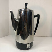 Vintage Presto 0281104 Stainless Steel Coffee Potpercolator 12 Cupgreatworks