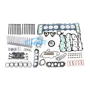 3.0t Gaskets And Piston And Bolts And Valve Kit Fit For Vw Touareg Audi A6 A8 Q7