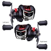 7.21 Bait Casting High Speed Metal Handle Coil Fishing Reel Right Hand Left Han