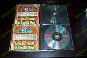 Wagon Wheels 2 Cd Set Legendary Songs Of The Old West Tex Ritter Bob Wills Autry