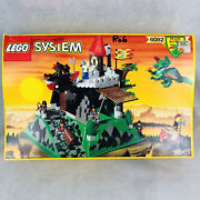 Lego 6082 Fire Breathing Fortress Set Dragon Vintage 1994 Rare Brand New Sealed