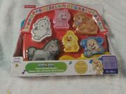 Fisher-price Laugh And Learn Farm Animal Puzzle Songs And Sounds - New