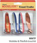 Mooselook Wobbler - Thinfish Trout 4-pack Kit - Mwtf By Brecks -fishing Lure Kit